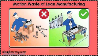 the 8 wastes in lean manufacturing with an example