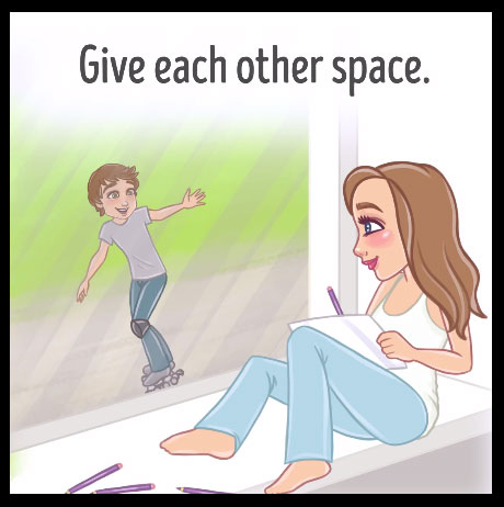 Make Happy Relationship in Life with 7 Secrets Give Space