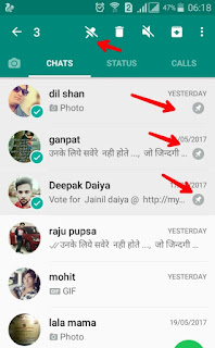 whatsapp pin chat feature,TIPS AND TRICKS
