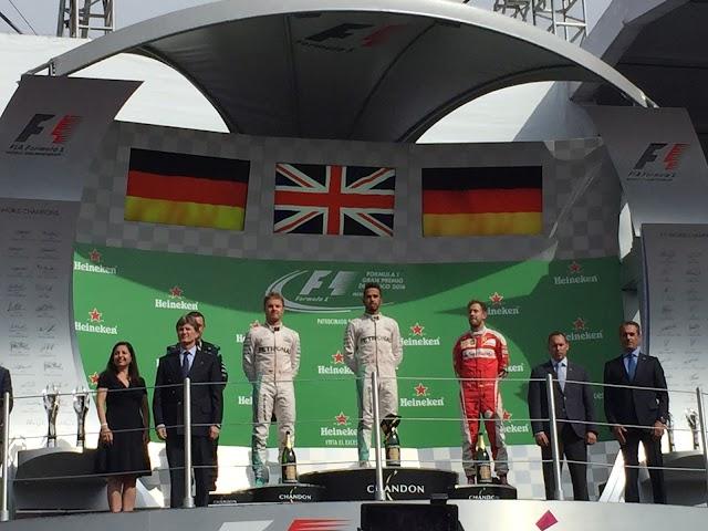 Gran Premio de México 2016: un éxito
