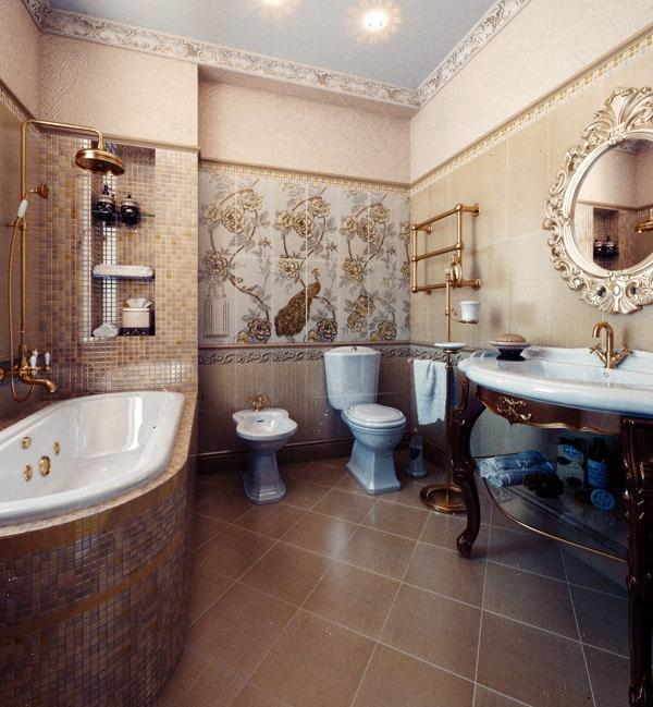 Kamar mandi nyaman klasik