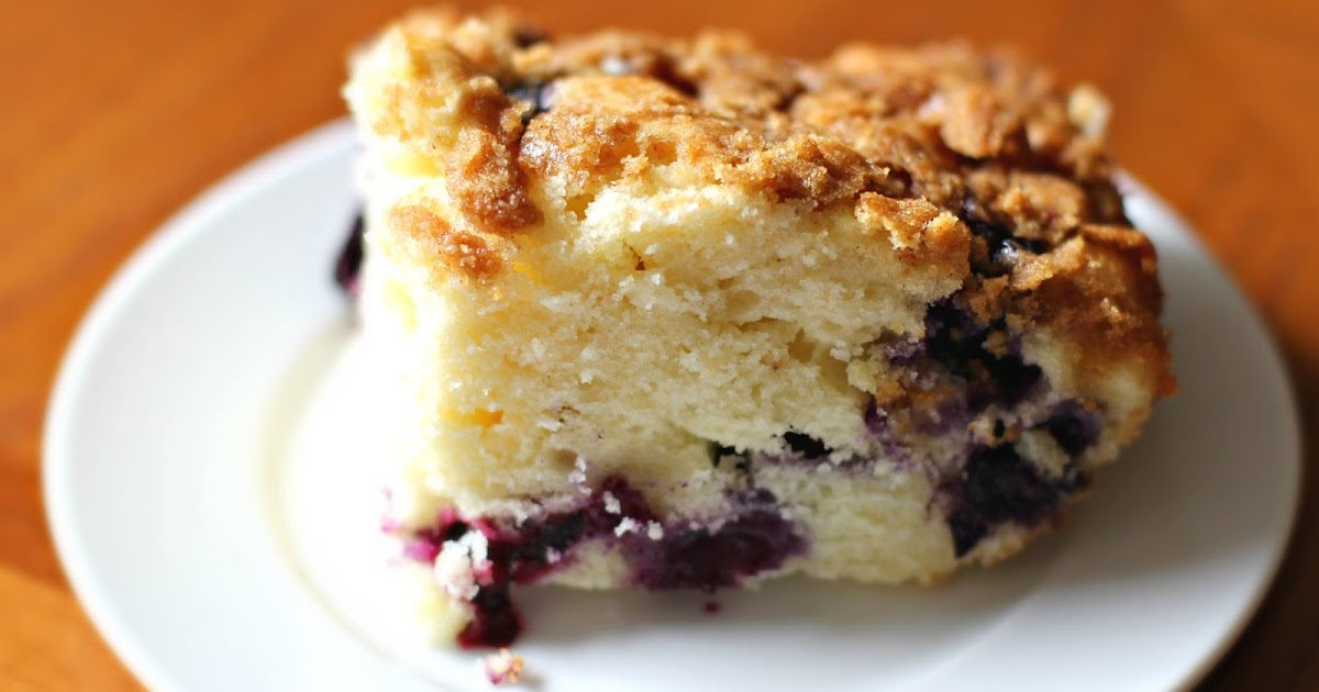 Visions of Sugar Plum: Blueberry Buttermilk Coffee Cake