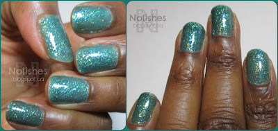 From the 2010 Nicole by OPI 'Gossip Girl' collection,