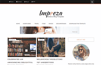 Impreza Free Blogger Template 2017 Updated