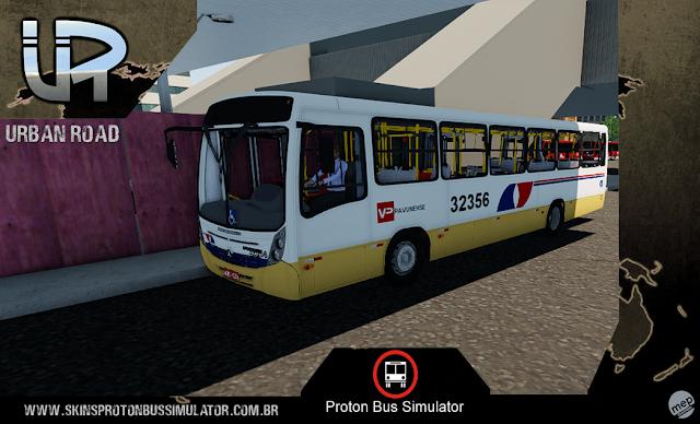 Skin Proton Bus Simulator - Mega2006 mb OF-1722M Pavunense