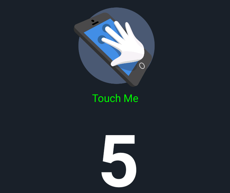 There's 5 points of touch!