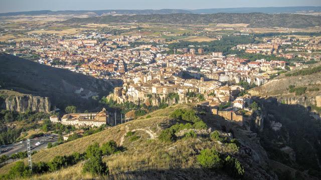 Cuenca desde el Cerro San Cristóbal