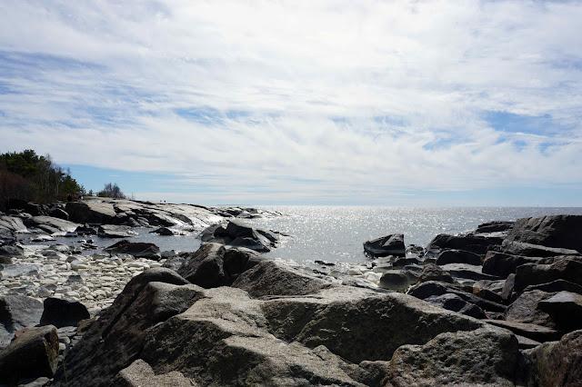 Kallo ranta meri kivikko Pori