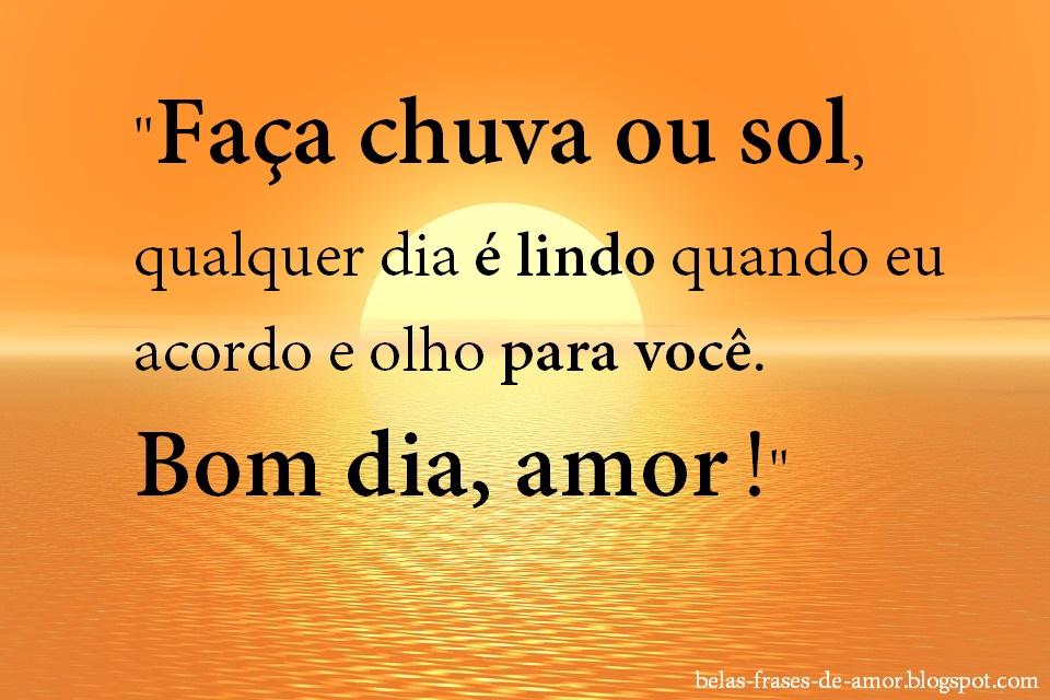 Tag Lindas Frases De Amor De Bom Dia