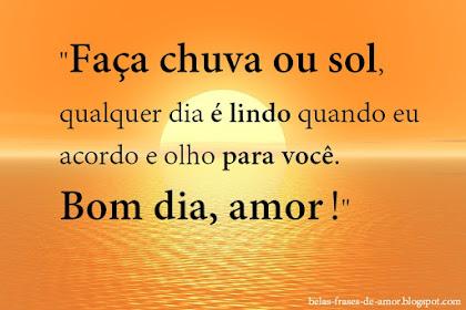 Imagens De Frases Bom Dia Amor