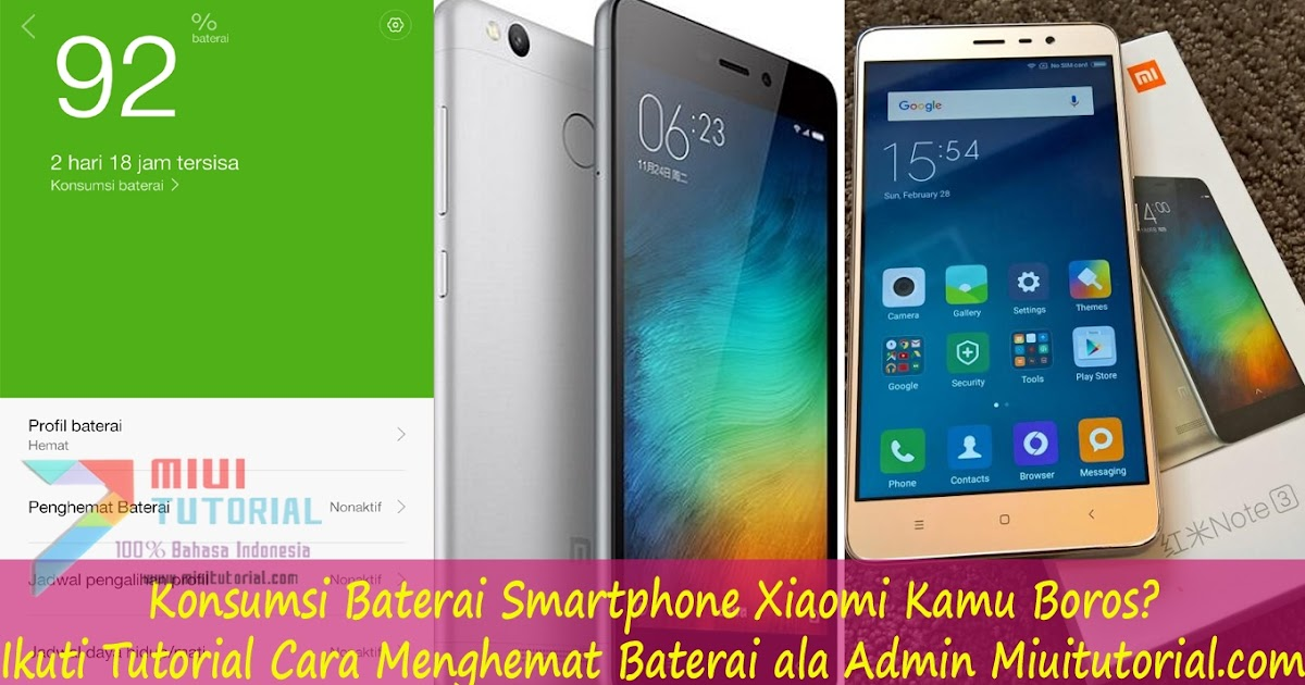 Cara Mengatasi Xiaomi Redmi Note 3 Boros Baterai Vinny Oleo