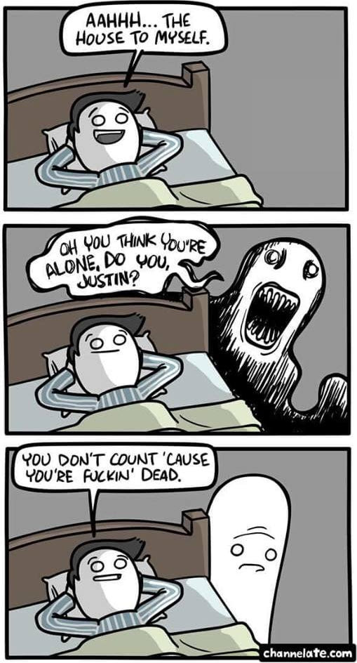 This is how to burn a ghost
