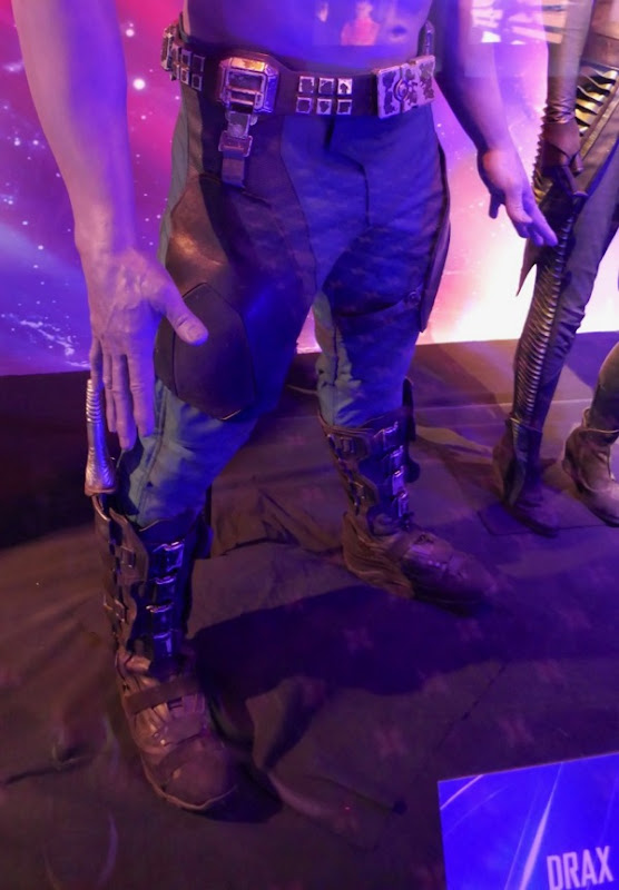 Avengers Infinity War Drax costume detail