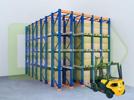 Estanterias de ocasion sistemas de almacenaje tipos de - Estanterias para palets ...