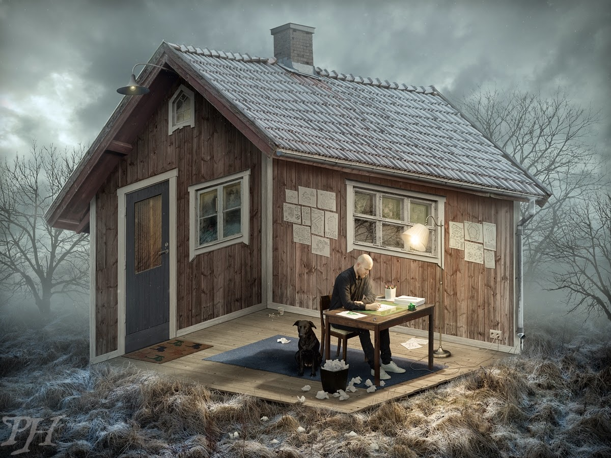 The Architect por Erik Johansson confunde nossa mente!