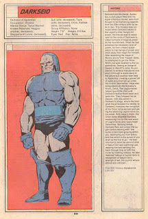 Darkseid DC Comic