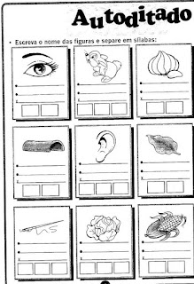 Autoditados sílabas complexas