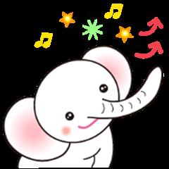 White Tender Elephant