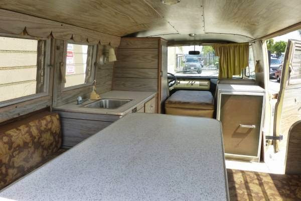 Ford Cargo Van For Sale >> Used RVs 1966 Ford E100 Econoline Camper Van For Sale by Owner