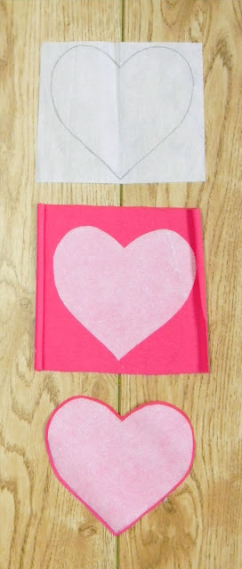 DIY sewing, heart