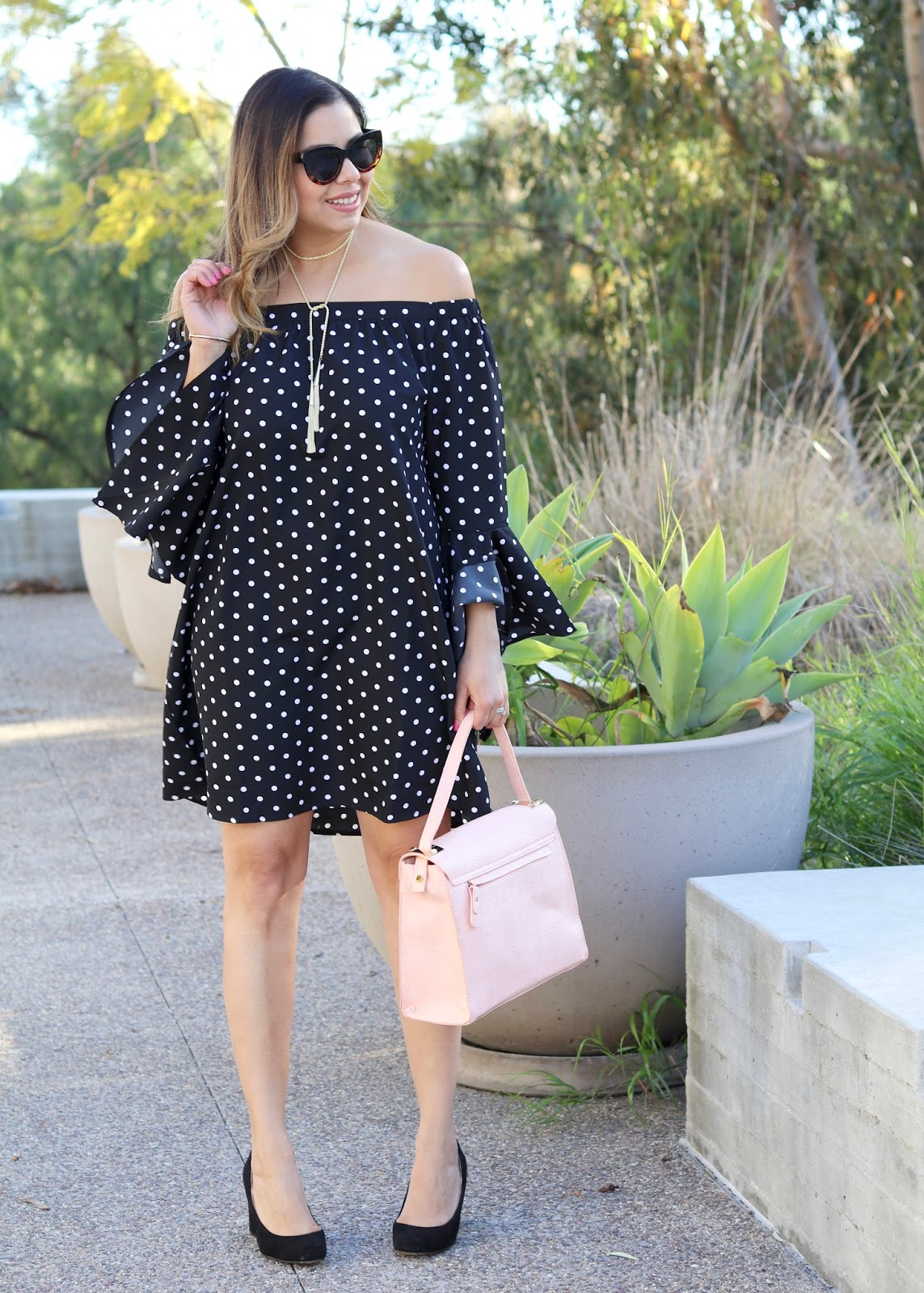 Polka Dot Flare, Minnie Style, Latina Fashion Blogger