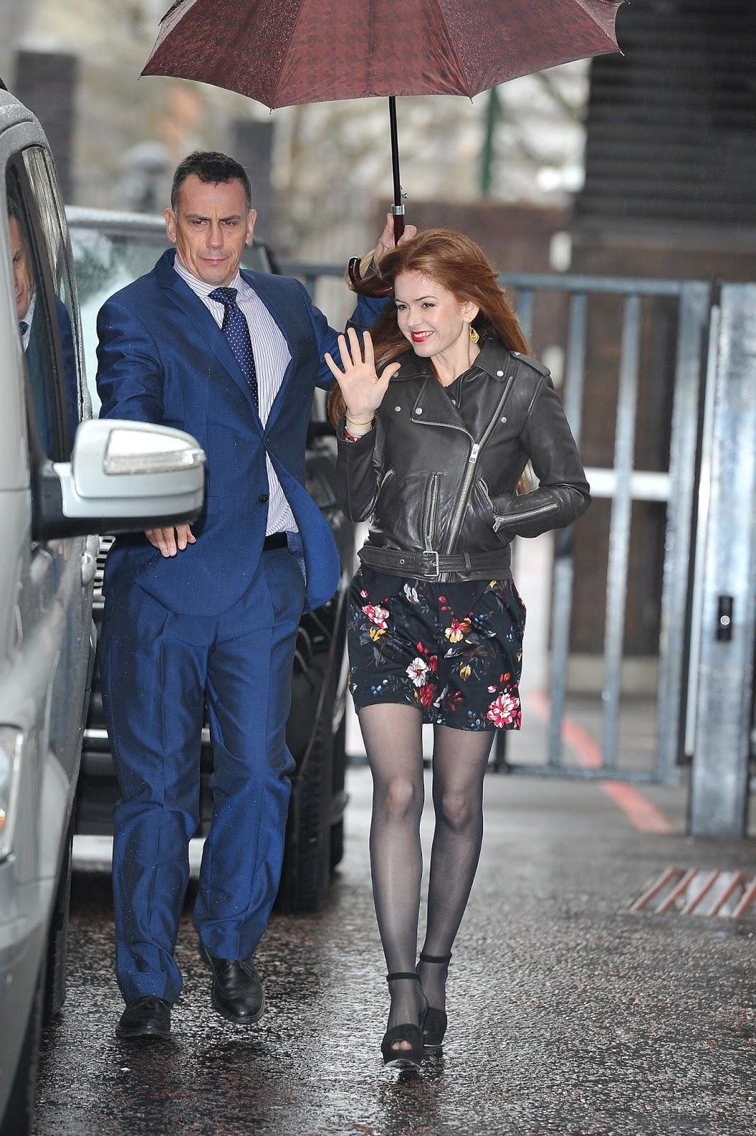 Isla Fisher at ITV Studios in London, February 22, 2016 ...