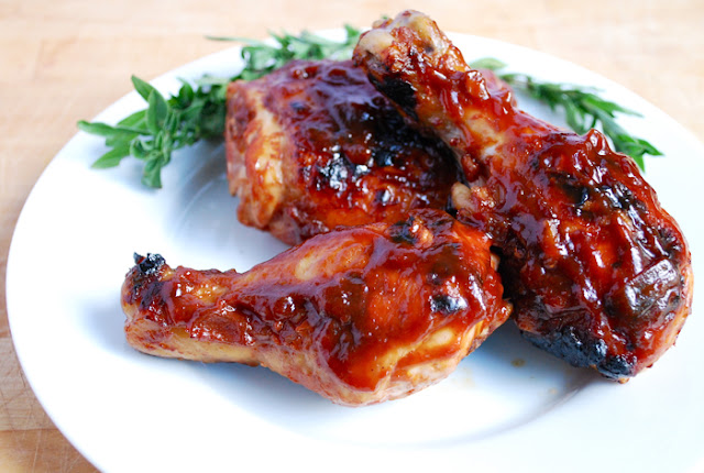 How to Grilled Chicken with Barbecue Sauce