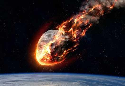 Inilah Yang Terjadi Jika Meteorit Raksasa Jatuh ke Laut