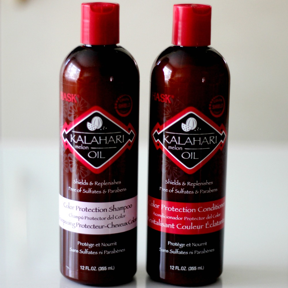 Hask Kalahari Melon Oil Hair Shampoo and Conditioner