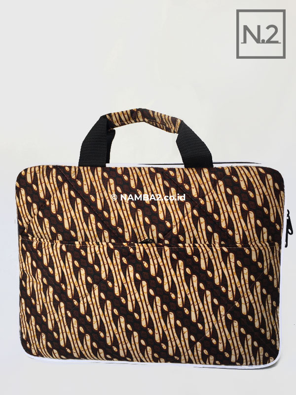 Tas Laptop Batik Ready Stock Souvenir Seminar Kit