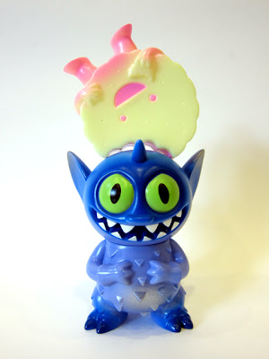 Super7 Strawberry Glow in the Dark Foster & Purple Puncher Power Mister by Sun-Min & David Horvath