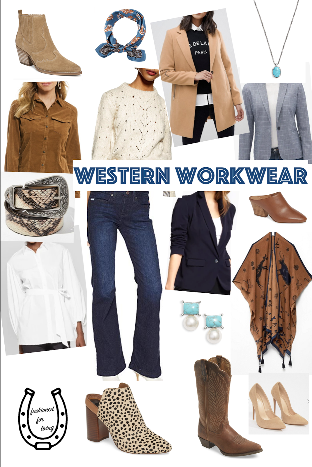western trouser jeans outfits women