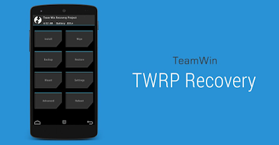 Tutorial Mudah Pasang Custom Recovery TWRP Andromax A A16C3H Tanpa Root