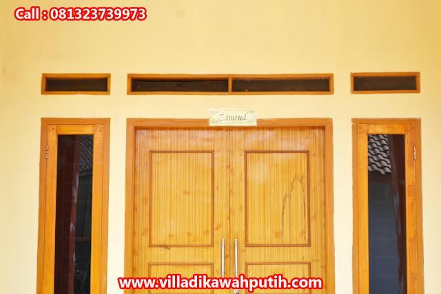 Booking villa di area wisata kawah putih dari ciamis