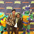Brandon Mychal Smith at Rise of TMNT Toys and Products Preview