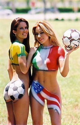 Sports Body Paint Pics : sports, paint, Paint, Photos, Tattoos, Source