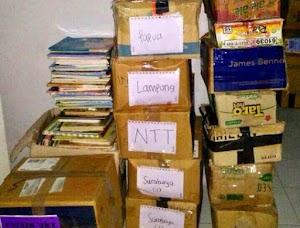 Jual Buku Bekas Berkualitas Untuk Donasi Kegiatan Literasi