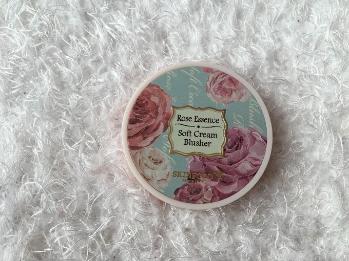 Skin Food Milky Rose Rose Essence Soft Cream Blusher