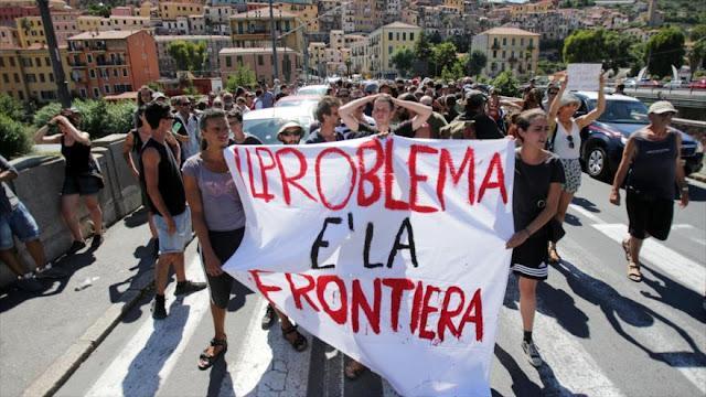 Activistas en Italia denuncian deportación de migrantes