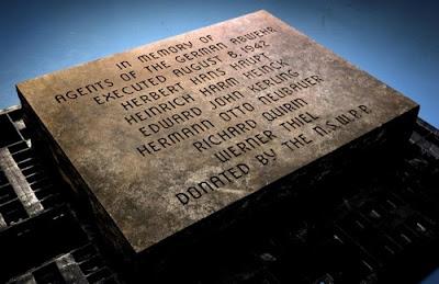 Nazi spies memorial stone Washington DC