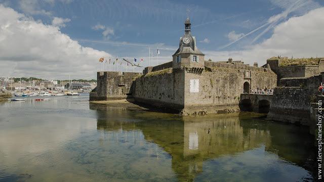 Concarneau viaje Bretaña turismo ciudadela medieval
