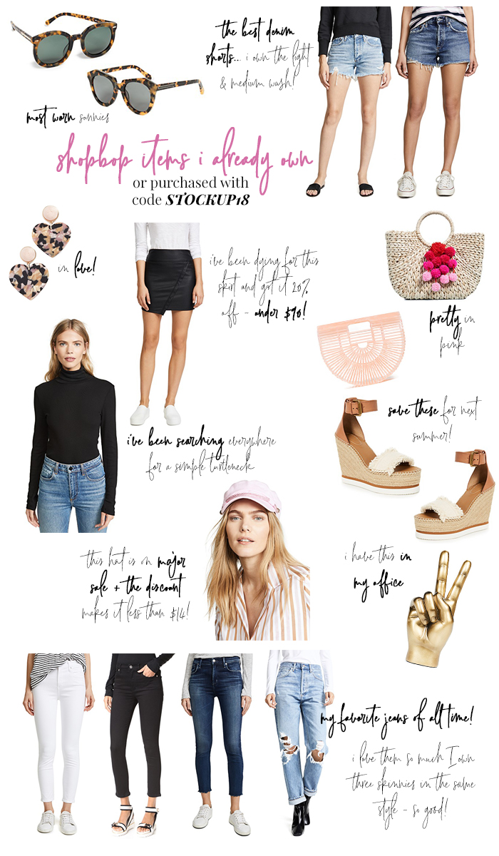 shopbop sale purchases stockup18