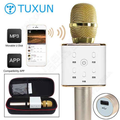 Micro Karaoke Q7 / Q7U Bluetooth cho điện thoại loại 1 giá sỉ và lẻ rẻ nhất
