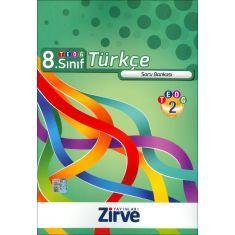 Zirve 8.Sınıf TEOG-2 Türkçe Soru Bankası (2016)