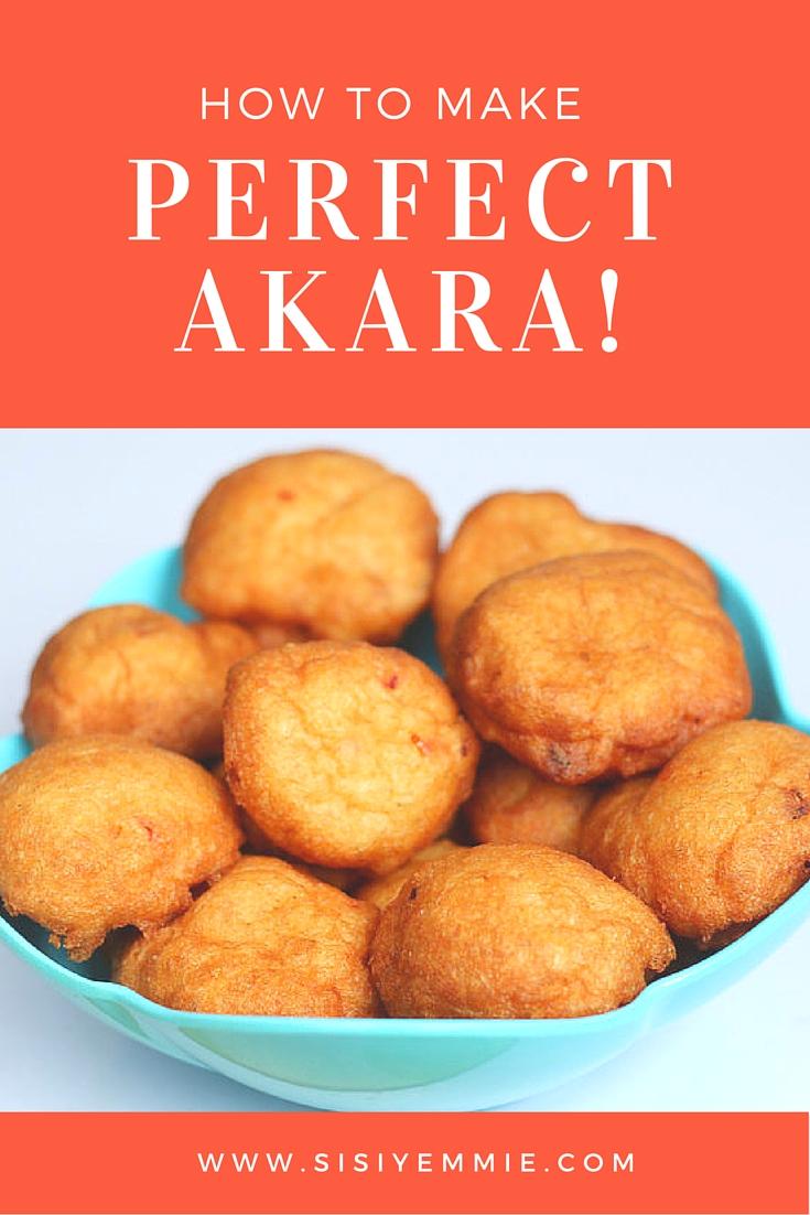 How to Make Akara images