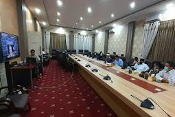 Abdul Gani Kasuba  Lakukan Video Konferens dengan Doni Monardo Bahas New Normal