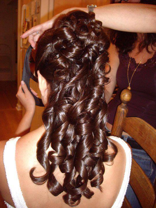 In Moda For Me Peinados Para Novias Fiestas Y Ninas
