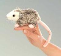 Opossum Finger Puppet