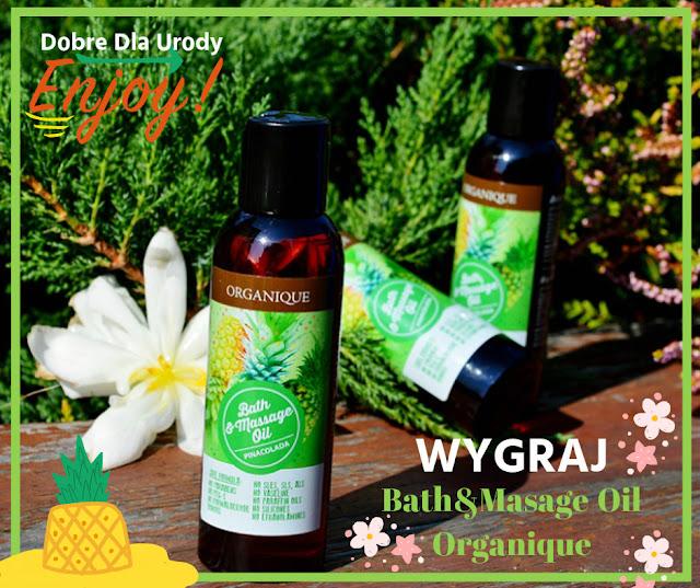 KONKURS - wygraj olej do kąpieli i masażu Organique