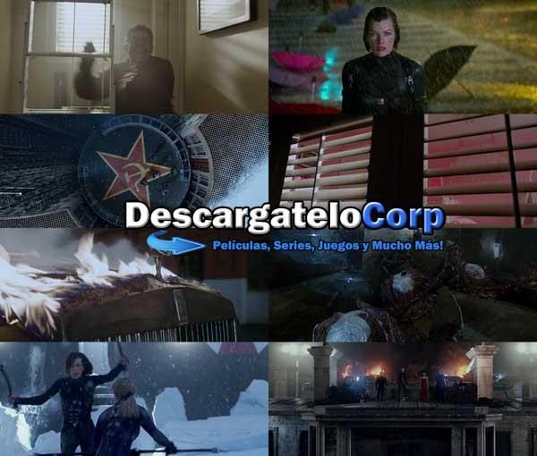 Descargar Resident Evil Coleccion Completa DVDRip Latino